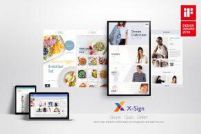 X-Sign Software, Kosten verlagend, BenQ, MENUDigitaal