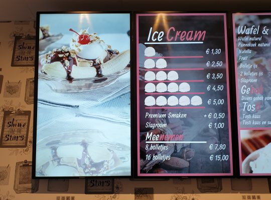 Project My Ice Cream Foto 2, Software, Netjes, Beeldscherm, Reclame, Goedkoop, X-Sign