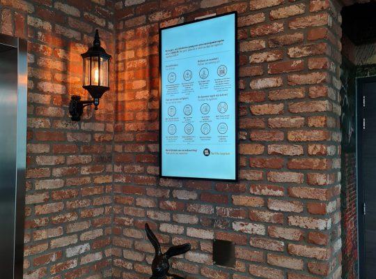 Project Inntel Hotel, Software, Netjes, Beeldscherm, Reclame, Goedkoop, X-Sign
