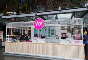 Project Yoyo Fresh Tea Bar, MENUDigitaal, X-sign, Rotterdam, Fresh Tea, Mooi, Goedkoop